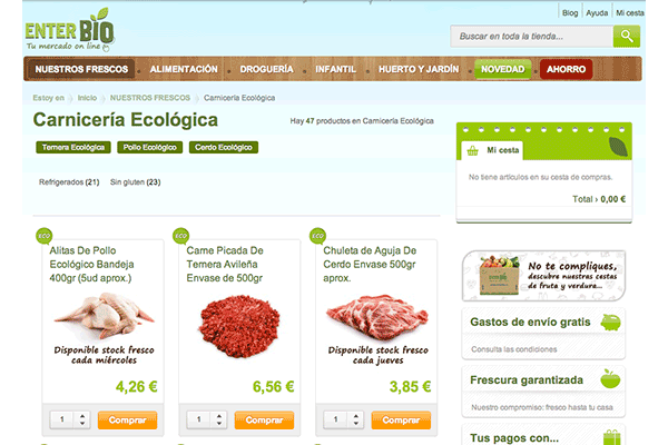 Enterbio Category Page
