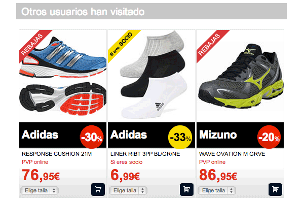 Detail of Recommendations at Product Page