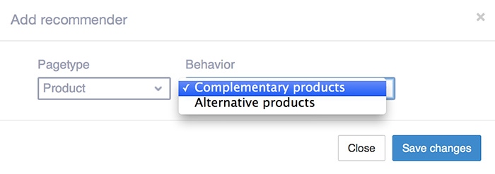 Define your own recommendation strategy